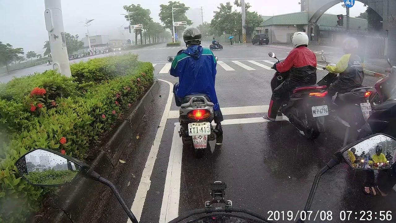 SJCAM SJ9 STRIKE test ride in the rain 雨天測試