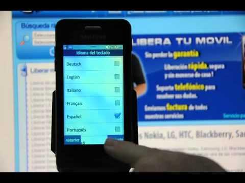 Liberar Samsung Wave 723, desbloquear Samsung GT S7230E de Movistar Movical Net