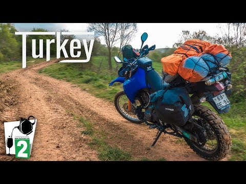 Motorcycle riding in Turkey - Istanbul to Amasra