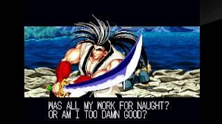 Samurai Shodown (PlayStation 4) Arcade as Haohmaru