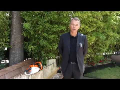 Alexandre THORN, Président d'ANDREAS STIHL SAS : Gamme Outils Batterie  STIHL COMPACT