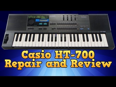 Casio HT-700 Repair and Review