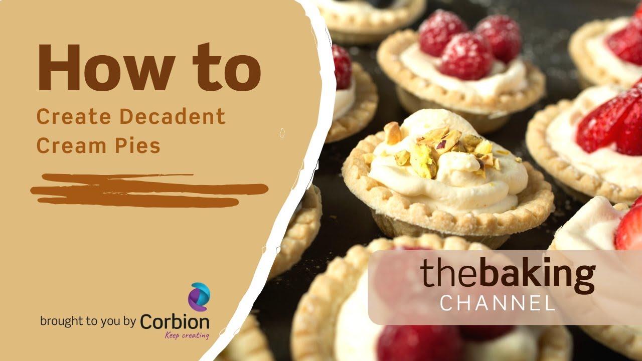 How to Create Decadent Cream Pies