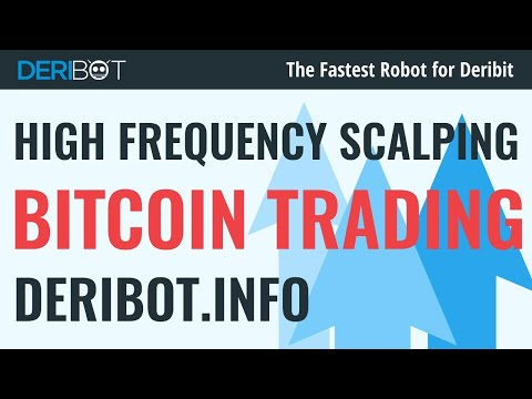 Bitcoin Live Trading. Trading BTC USD With Crypto Trading Robot DeriBot for Deribit Exchange.