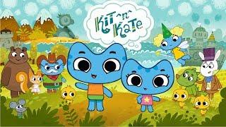 KIT & KATE - Kids TV Show   Funny Cute Cartoon Sister Kittens