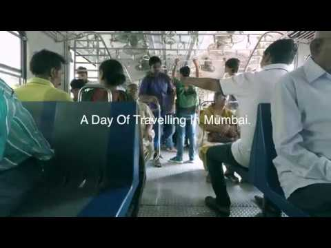 A day of travelling in Mumbai.