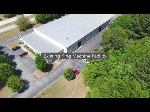 4/22 Drone Video of New King Machine Plant in Sumter, SC
