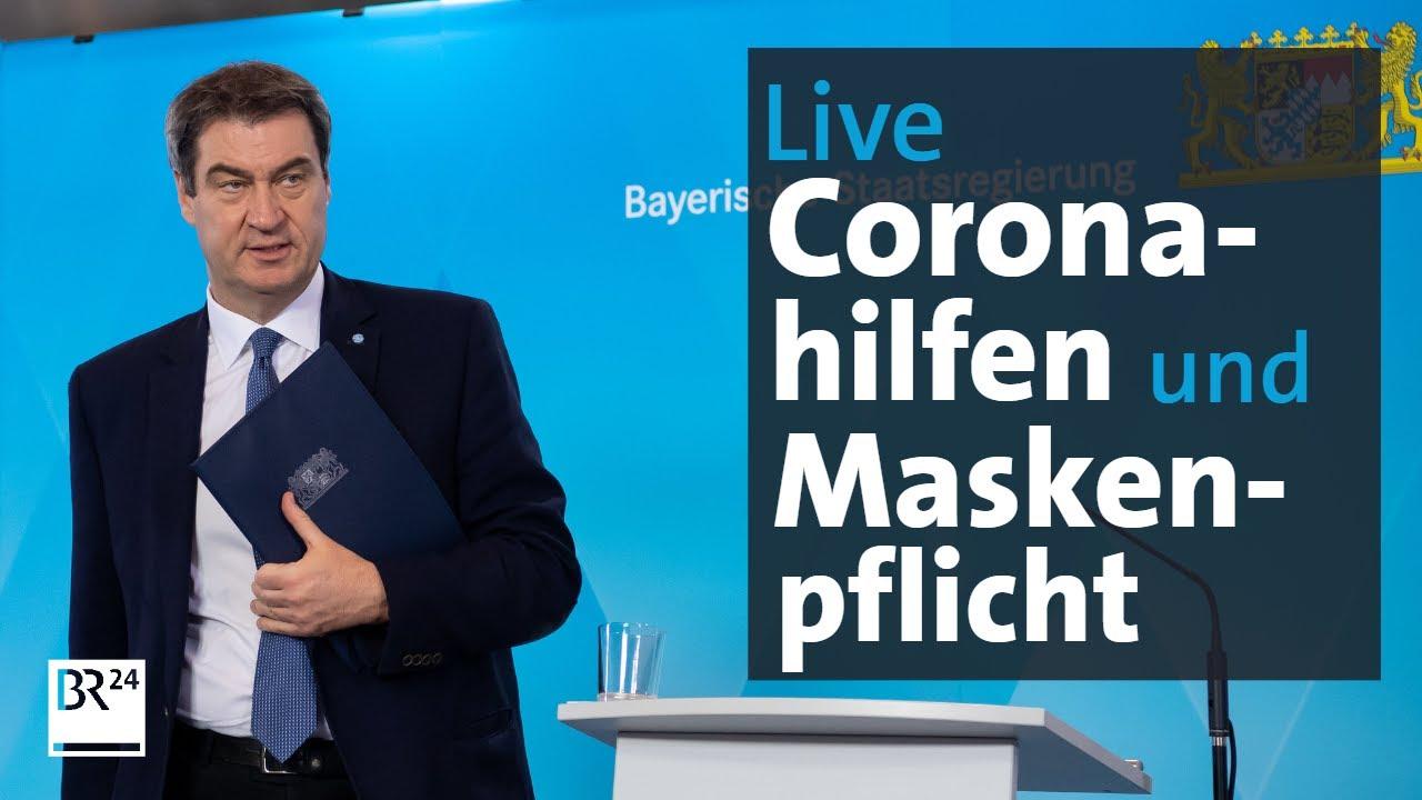 Pressekonferenz Bayern Corona