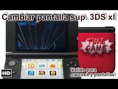 Como poder cambiar la pantalla superior en 3DS XL
