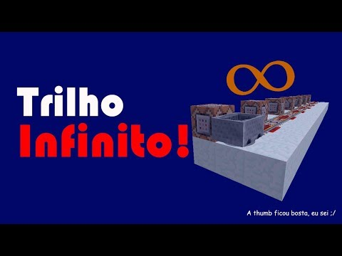 Trilho Infinito! | Minecraft
