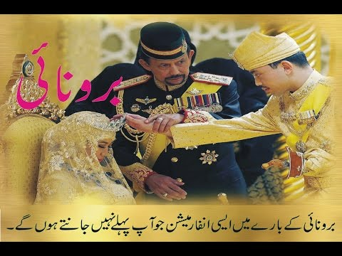 Amazing Facts About Brunei In Hindi/Urdu Brunei Is A Amazing Country In The World .
