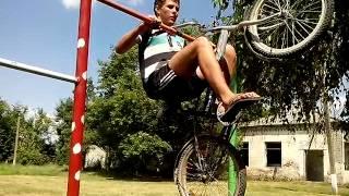Прикол ,,новый вело треножор