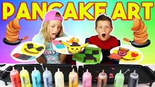 Download PANCAKE ART CHALLENGE!!! Mp3 and Videos