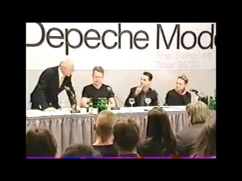 Depeche Mode Singles Tour Press Conference, Hyatt Hotel, Col