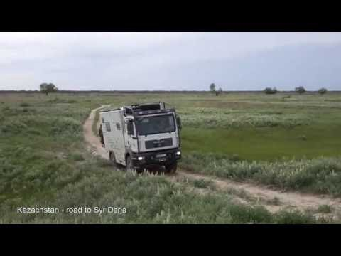 Mongolia 2016 (10) Russia,  Kazachstan with expedition MAN 4x4