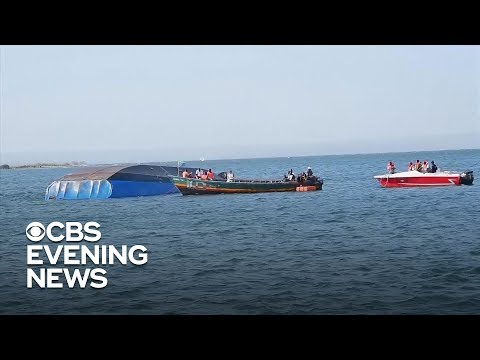 Ferry boat that capsized in Tanzania was dangerously overloaded