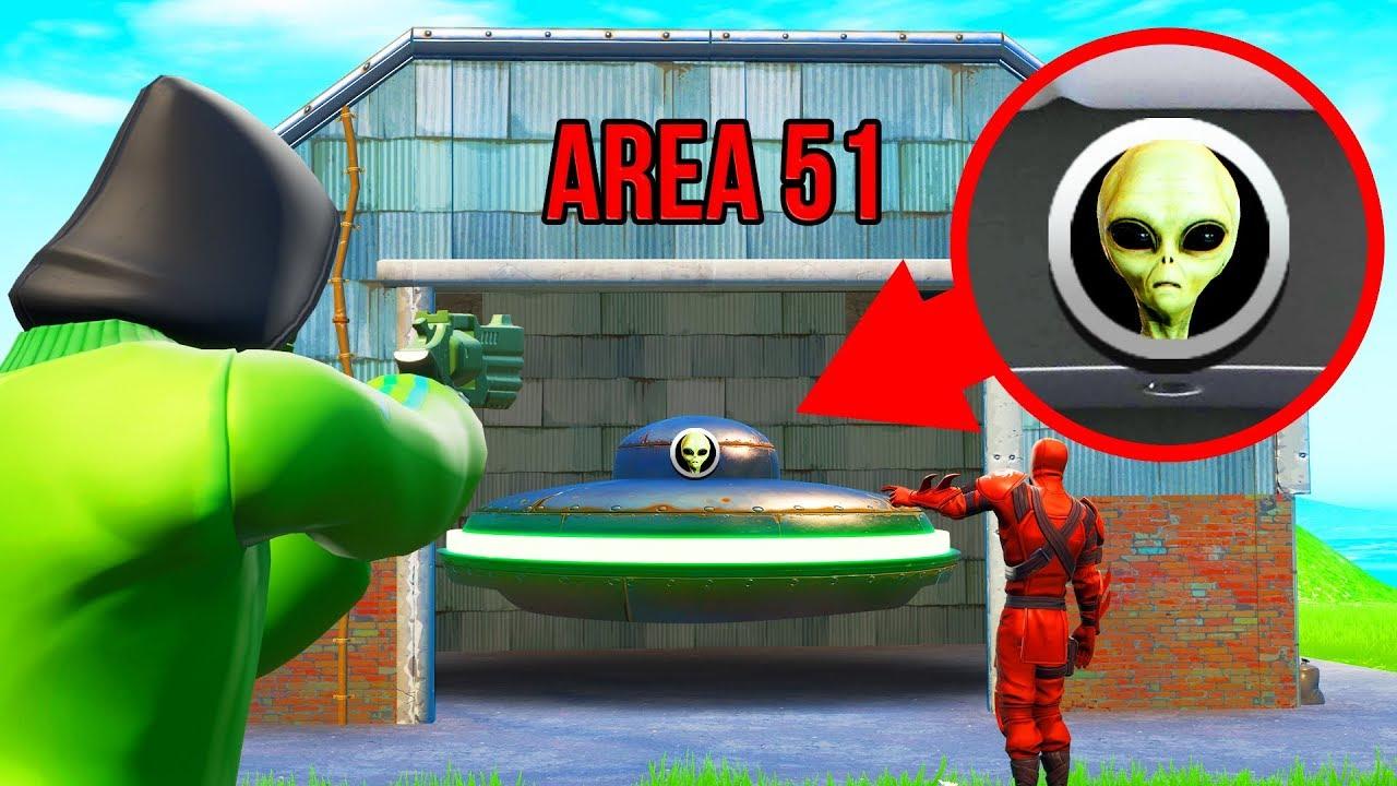 AREA 51 SNITCH Hide And Seek In FORTNITE!