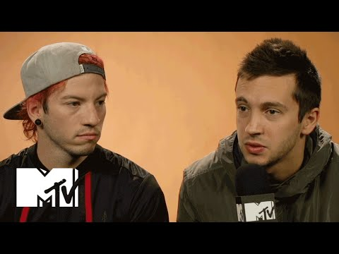 Twenty One Pilots Explain Why Their Album Is Called Blurry Face  MTV News