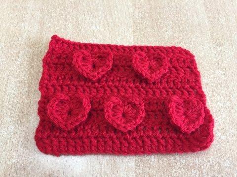 Tuto Motif Coeur Au Crochet Spécial Gaucher