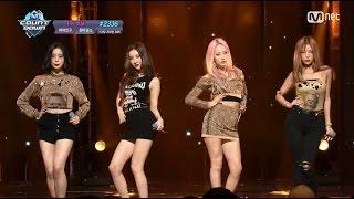 Wonder Girls 「Why So Lonely」(2016年7月21日放送「M COUNTDOWN」)