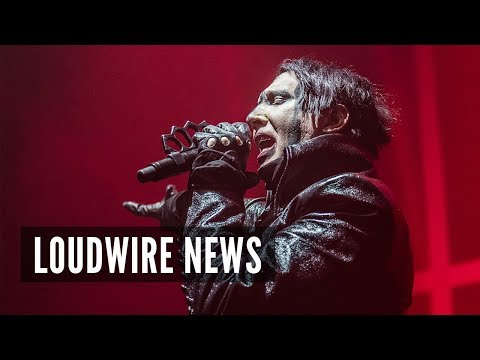 Marilyn Manson Issues Explanation For Onstage Fake Gun Incident