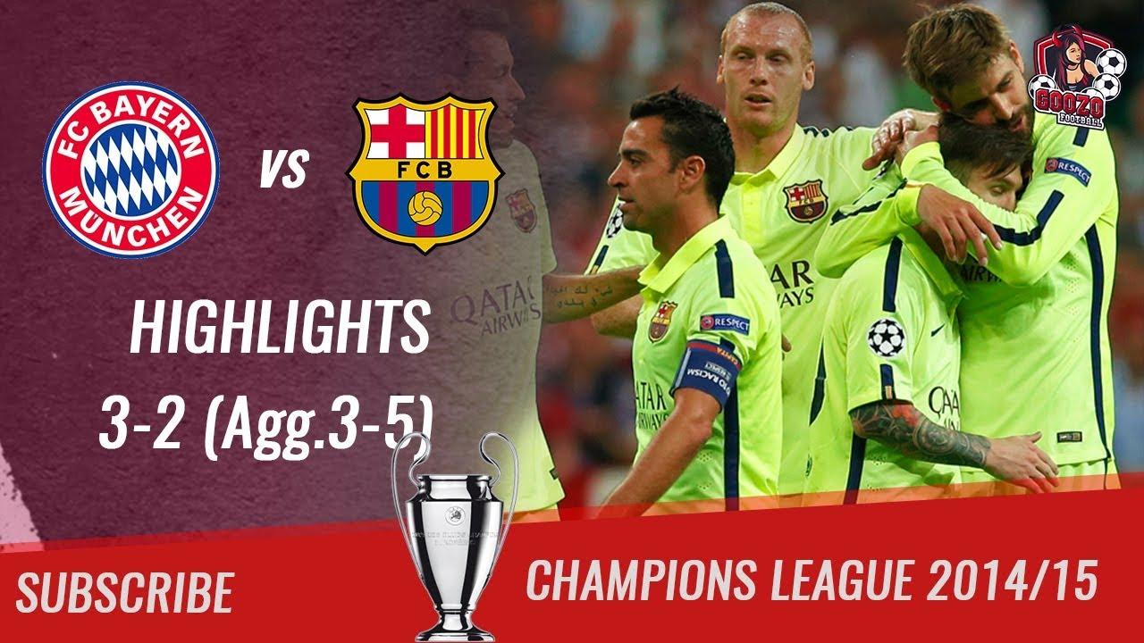 🏆 2014 15 UCL Semifinal 2nd Leg 🏆 Bayern München Vs FC Barcelona 3 2 Agg 3 5 HD