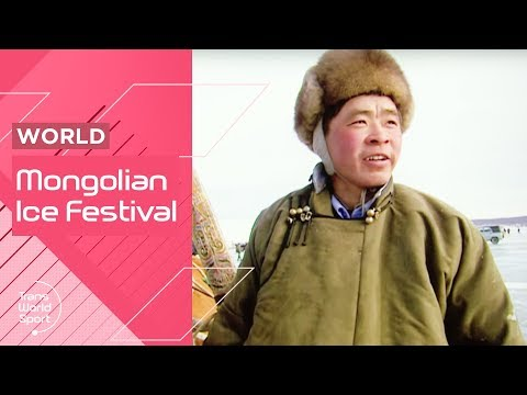 Crazy Sports at the Mongolia Ice Festival