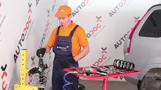 Wie HONDA CR-V 2 Fahrwerksfedern hinten wechseln TUTORIAL | AUTODOC