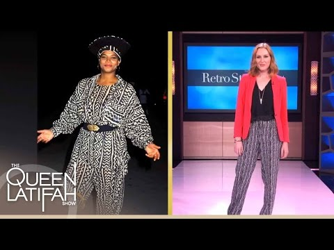 Bevery Johnson's Retro Fashions That Are Hot Now! on The Queen Latifah Show