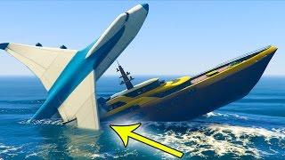 J'ai Enfin Fais Coulé le Yacht sur gta v !