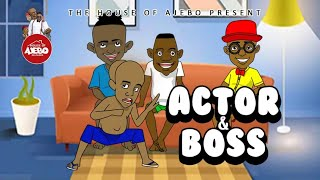 Actor and Boss (Jackie Chan's movie put Tegwolo in trouble)