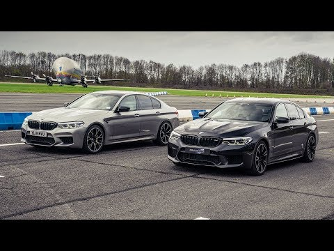 Top Gear Drag Races BMW M5 Vs 774-Horsepower Tuned M5