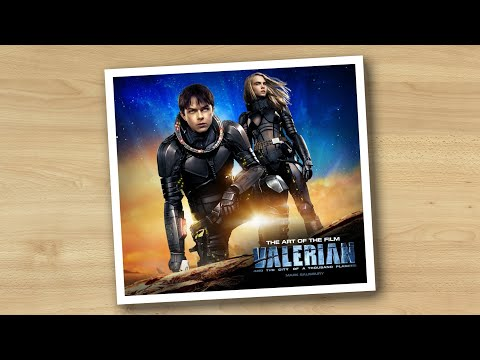 Art of Valerian and the City of a Thousand Planets