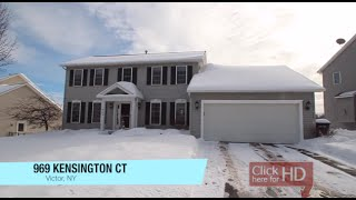 969 Kensington Court, Victor, Ny Presented By Bayer Video Tours