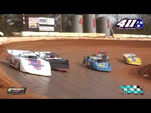 602 Late Model Feature @ 411 Motor Speedway Feb  15, 2020