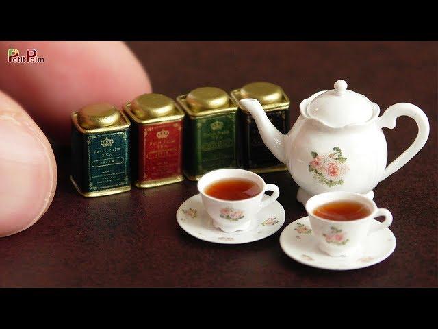 Miniature Teapot Miniature Dollhouse Kitchen Supply Pot Tea Miniature Stove 1:12