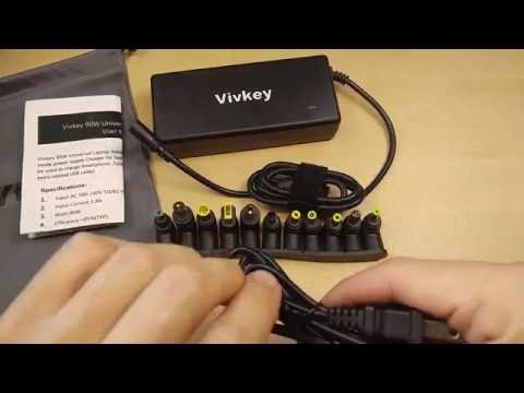 (:Review:) VivKey Universal Laptop Power Adapter With Auto Voltage Selection & 11 Tips