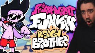 Friday Night Funkin Beach Brother Mod ( EL HERMANO DE GF ES EPICO ! )