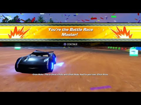 Cars 3: Driven to WIn (PS4) - Jackson Storm vs. Miss Fritter (It's Time to Settle This!!)