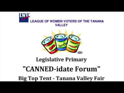 League of Women Voters 2016 candidate forum  -- Alaska House Districts 3 and 4, Senate District B