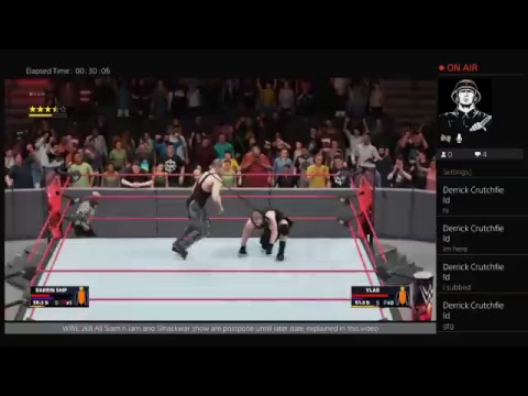 WWE 2k18 All Slam n jam and Smackwar Show  are postpone  untill  later  date  explained  in this vid