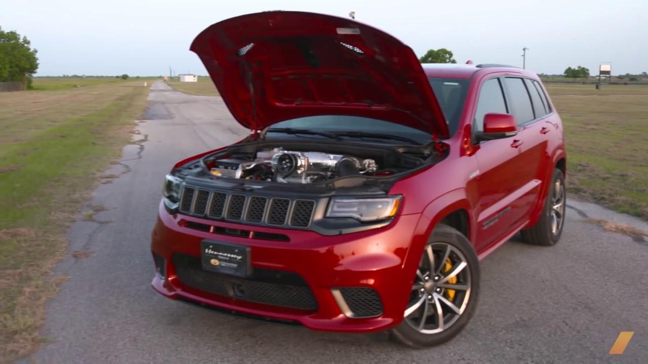 Hennessey Jeep Grand Cherokee Trackhawk 1 012 Hp Monster