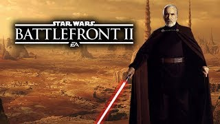 ALL NEW COUNT DOOKU DETAILS and ANIMATIONS! - Star Wars Battlefront 2