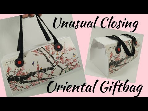 Unusual Close Oriental Gift Bag | Video Tutorial
