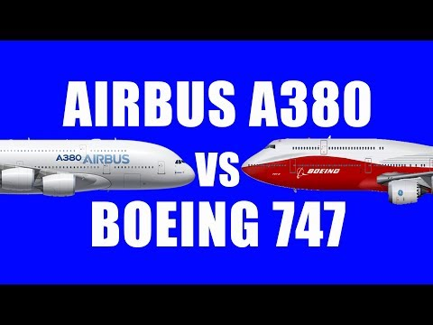 Airbus A380 vs Boeing 747..! Which is a better Airplane