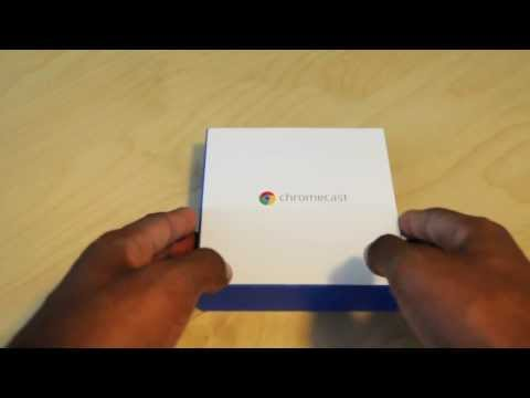 Google Chromecast HDMI Streaming Media Player Unboxing