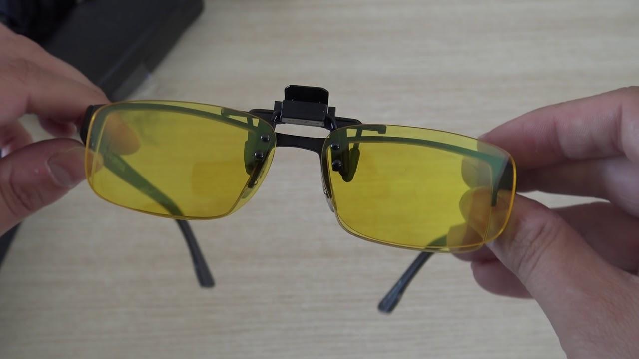 Klim Optics  Test Video Review de lunettes gaming   de verres à clipser 799425f8ee80