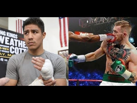 Jessie Vargas affirmed that he knocked out Conor McGregor During Sparring (interview)