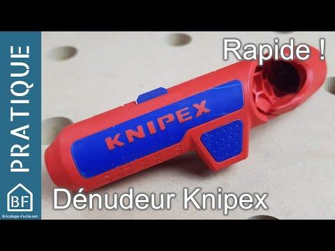 Accessoire Pratique Pince à Dénuder Knipex