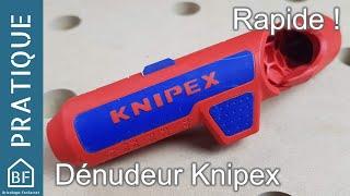Accessoire pratique : Pince à dénuder Knipex Ergostrip